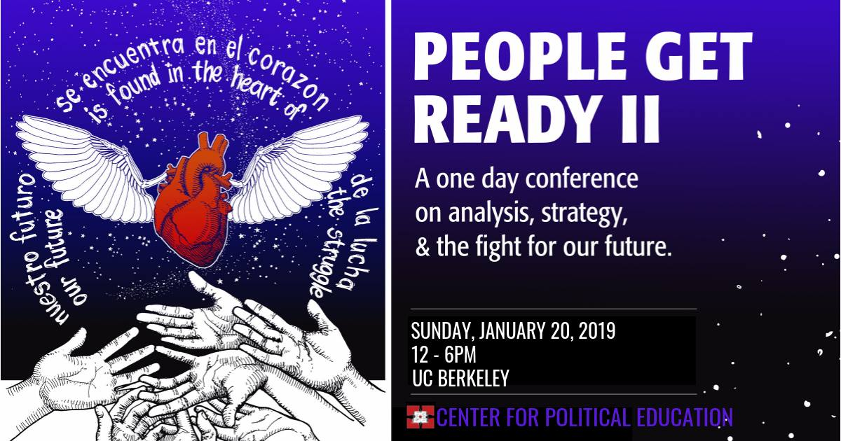 center for political education people get ready ii is back on